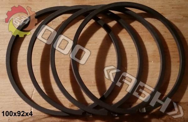 Поршневое кольцо 100x92x4