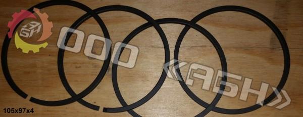 Поршневое кольцо 105x97x4
