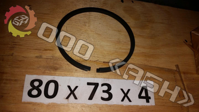 Поршневое кольцо 80x73x4
