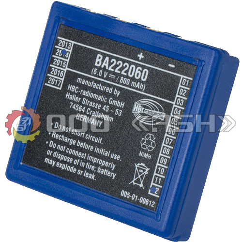 Аккумулятор HBC Radiomatic BA222060 / BA203060