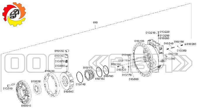 Запчасти для гидромотора ZF PLM7