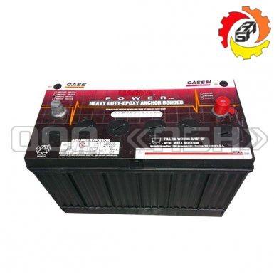 Аккумулятор Case 110Ah (резьбов., клем., сухозар.)  (1680 / STX450 / 7140 / 9390)