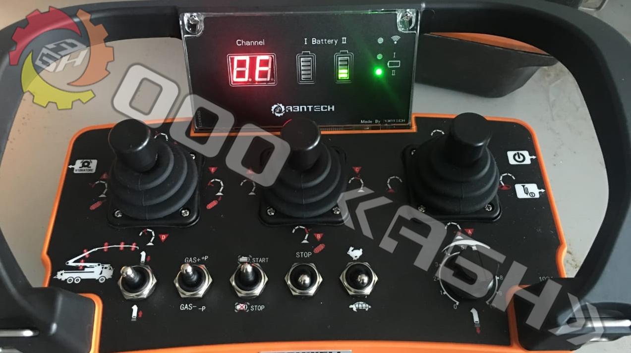 Пульт радиоуправления для бетононасоса ABNTECH