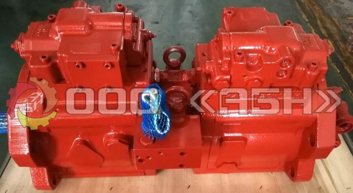 Гидравлический насос Kawasaki K3V63S-1E6R-0000