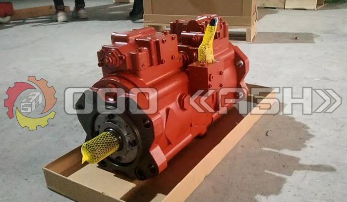 Гидравлический насос Kawasaki K3V112DTP1AMR-9TEL-V