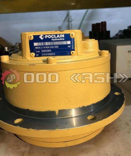 Гидравлический мотор Poclain MK04-2-114-K04-3340-3H00