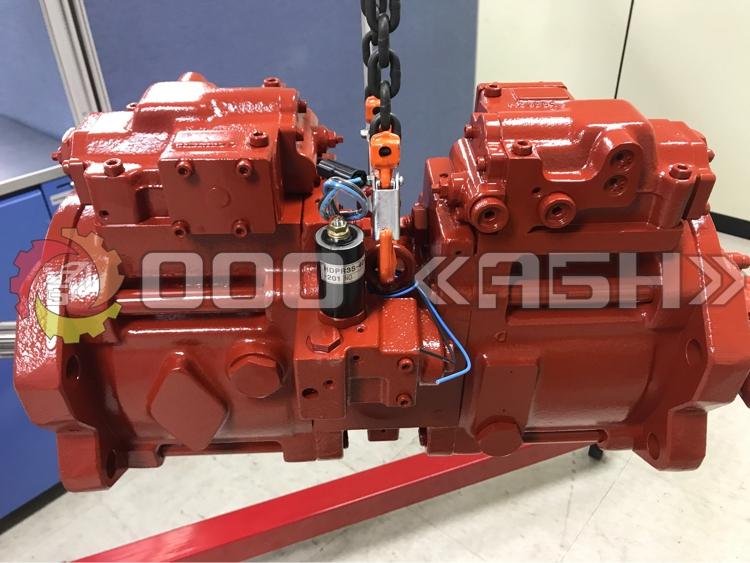 Гидравлический насос Kawasaki K3V63DTP-1R9R-9CEJ+F